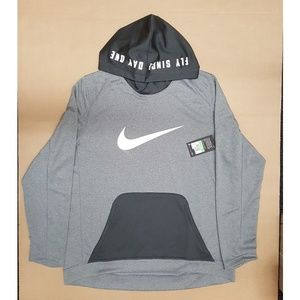 "Nike ""Fly Since Day One"" Gray Hoodie Men's Size XL"